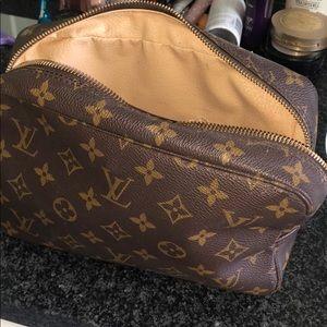 Louis Vuitton makeup bag/toilet pouch vintage
